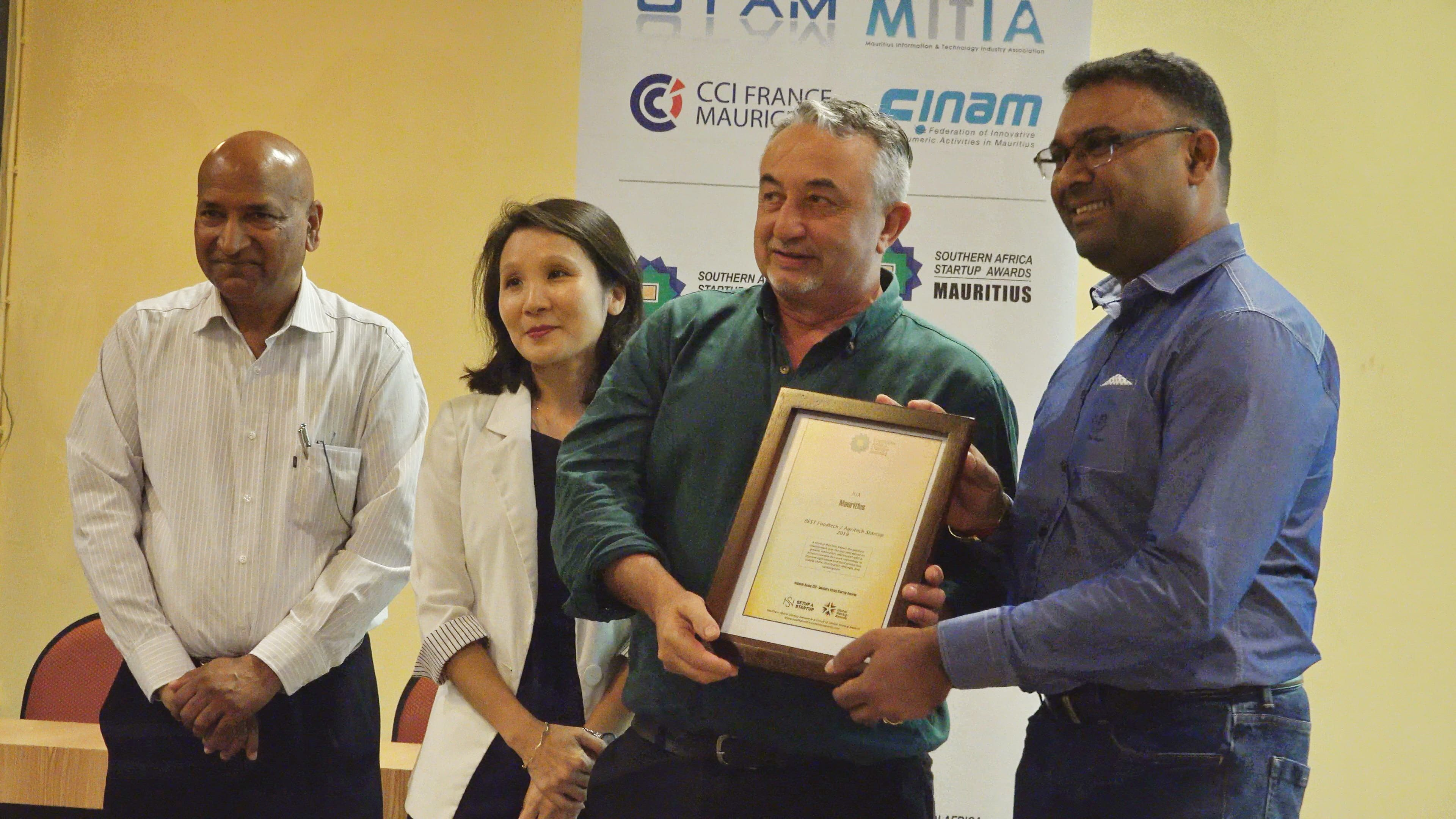 6.Best FoodTech-Agritech Startup- JUA