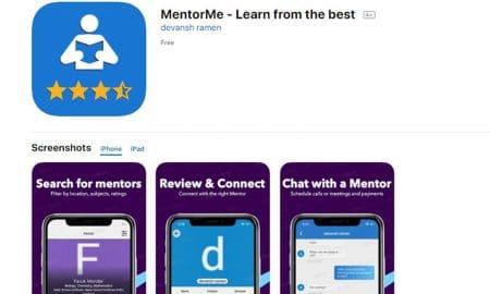 MentorMe – une application mobile au service de l'apprentissage 2.0