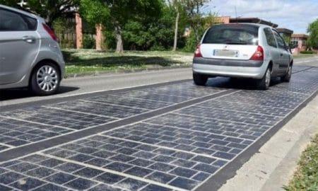 Route solaire – Rodrigues innove une fois de plus en matière d'écologie