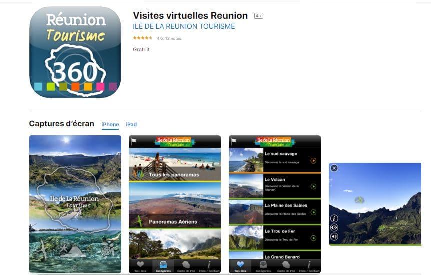 Visites virtuelles Reunion