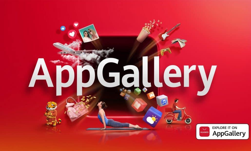 Restez à la maison et explorez Huawei AppGallery
