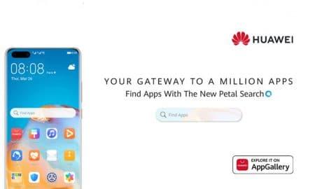 Huawei Petal Search Widget