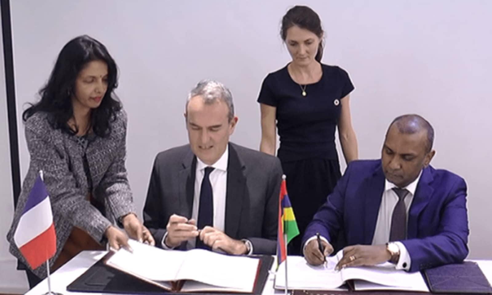 AFD met un prêt de 300 millions d'euros à la disposition de l'île Maurice