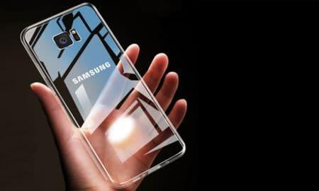 Samsung Galaxy avec écran transparent